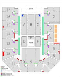 48 Experienced Genting Arena Seat Map