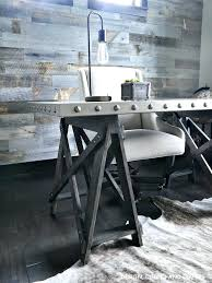 industrial office decor. Brilliant Industrial Modern Rustic Office Design Decor Industrial Desk In A  Metal Finish Looks So On Industrial Office Decor R