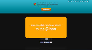 Bpm Chart Music Tap Bpm Online Beats Per Minute Calculator And Counter