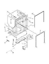Kenmore model 66515692k211 dishwasher genuine parts