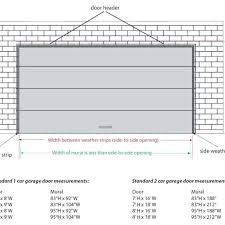 Typical Double Car Garage Door Size • Double Door Ideas