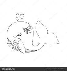 Immagini Balena Per Bambini Libro Da Colorare Per I Bambini