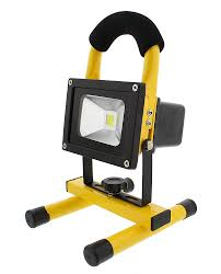 10 Watt Rechargeable Led Work Light Details About Abn Rechargeable Led Work Light 10w Cordless Shop With 10 Watt