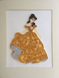 Quilled Princess Belle by Vera | Paper quilling patterns, Quilling  techniques, Quilled paper art