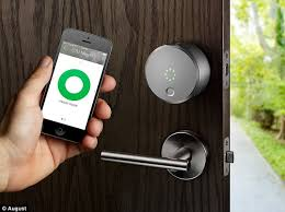 the smart lock that can let you into your home using a mobile phone