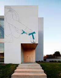 Modern Japanese Houses Artist Adds Classic Drawings To Modern Japanese Homes Cube Breaker