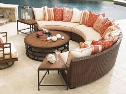 semi circle patio furniture