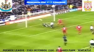 NEWCASTLE UNITED FC V LIVERPOOL FC - 1-1 - 23RD DECEMBER 1996 - ST JAMES  PARK - YouTube