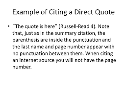 Citing A Quote Cool Citing Sources Ppt Video Online Download