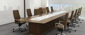 office conference table design. Oval Conference Tables Are A Combination Of Capaciousness And Ergonomics. After All, The Absence Sharp Corners Creates Calm Comfortable Office Table Design R