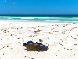 letter in a bottle text message or letter in a bottle gulfnews com