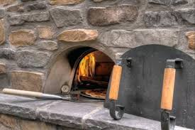 outside fireplace with pizza oven outdoor pizza oven a classic oven for perfect culinary results patio