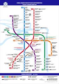official site of st petersburg metro metro map