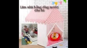Hướng dẫn làm nhà bằng ống nước cho bé - YouTube