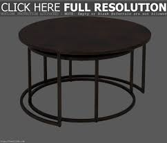 nested coffee tables black coated iron leg frame clear glass nested coffee tables black coated iron leg frame clear glass intended for inspiring small