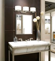 bathroom lighting makeup application. Favorable Vanity Sinks Bathroom Lights Sink Y With Additional Mirror Awesome Makeup Double Antique White Big Rectangular Illuminated Light Up Small Lighting Application