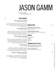 Attractive Resumes Resume Sample