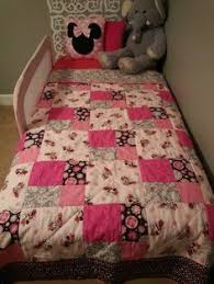 Minnie Mouse quilt made from the Tennessee Waltz pattern   Grandma ... & Minnie Mouse quilt Adamdwight.com