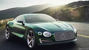 bentley 2 seater sport car