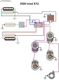 hsh push pull wiring diagram wiring diagram and hernes hsh wiring diagrams images diagram two humbuckers seymour