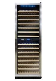 vinotemp wine fridge. 155 Bottle Dual Zone Touch Screen Wine Cooler Vinotemp Fridge I