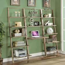 interesting leaning bookcase for inspiring storage ideas interesting oak wood leaning bookcase with desk on