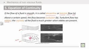 continuity equation physics. physics introduction | ch7 mechanics of non viscous fluids equation continuity