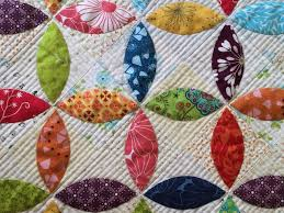 99 best ORANGE PEEL QUILT BLOCK images on Pinterest | Centerpieces ... & A Little Bit Biased: Orange Peel Mini Quilt [Finished] Adamdwight.com
