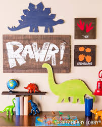 dinosaur decor hobby lobby bedroom for themed ideas image of nursery mobile frame toddler with mattress
