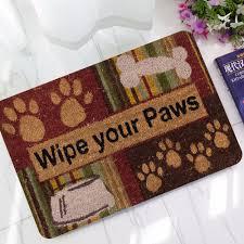 Owl Animal Print Welcome Doormats Non Slip Vintage Floor Carpet ...