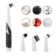 4 in1 Electric Sonic Scrubber <b>Cleaning Brush Household Cleaner</b> ...