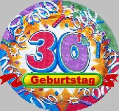Glückwünsche Zum 30 Geburtstag Sprüche Geburtstagsgedichte Spiele
