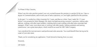 Cover Letter Examples For Sales Associate Simple Ways To Turn A Bad Cover Letter Into A Great One