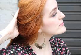 Red Hair Brinco De Argola Argola