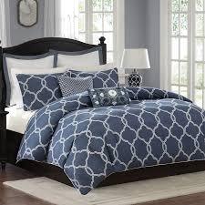 Blue Pattern Duvet Cover Interesting Inspiration