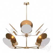 visual comfort thomas obrien osiris large reflector chandelier