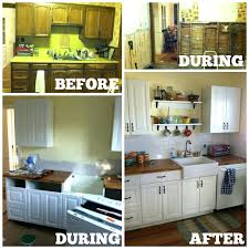 ready to install cabinets kitchen before and after ready assembled kitchen cabinets home depot