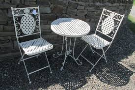 cream bistro patio set table 2