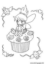 Small Picture Print The Little Fairy Cupcake coloring pages sarah Pinterest