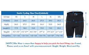 Endura Hummvee Size Chart Santic Cycling Shorts Mens Bike Biking Bicycle Pants Tights 4d Coolmax Padded