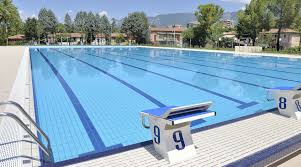 Sports complex with olympic size swimming pool in Terni