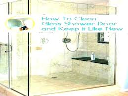best thing to clean glass shower doors soap s on glass best soap s cleaner for