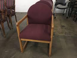 guest chair. wood frame guest chair