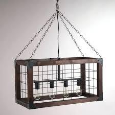 diy rustic chandelier rectangular farmhouse pendant lamp diy rustic mason jar chandelier