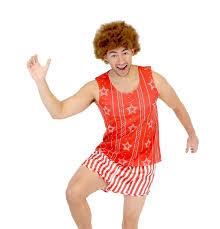 richard simmons costume female. amazon.com: richard simmons aerobics costume set with afro wig: clothing female d