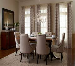 Informal Living Room Window Treatments For Living Room And Dining Room Informal Dining