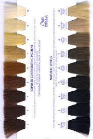 Hair Colour Level Chart Exposed Underlying Pigment Left Natural Hair Color Levels