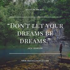 Travel Dream Quotes Best Of Best Travel Quotes Don't Let Your Dreams Be Dreams Travelling Buzz