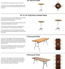 charming six foot table dimensions f29 in stunning home decoration