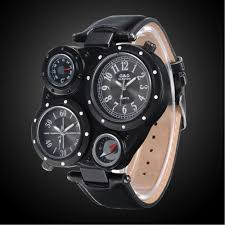 mens watches dial dual time temperature compass display sport mens watches dial dual time temperature compass display sport quartz watches men